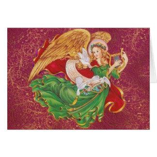 Carte Ange de Noël - Ange De Noel