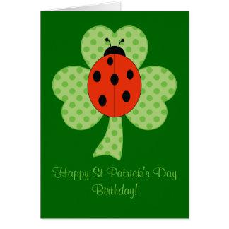 Carte Anniversaire de Jour de la Saint Patrick de