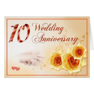 Carte Anniversaire de mariage 10