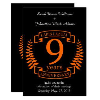 Carte Anniversaire de mariage de lazulite de Lapis 10