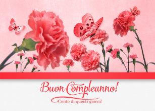 Cartes Buon Compleanno Italien D Anniversaire Zazzle Be