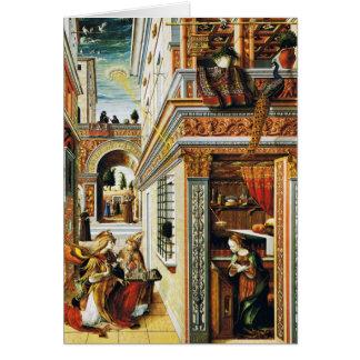 Carte Annonce avec St Emidius 1486
