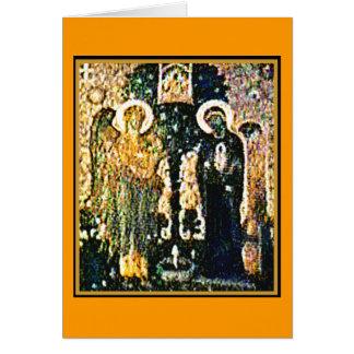 Carte Annonce d'église de l'Angleterre Cantorbéry le
