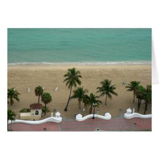 Carte Antenne de plage de Fort Lauderdale