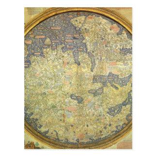 Carte antique Asie Afrique l'Europe d'ATF Mauro