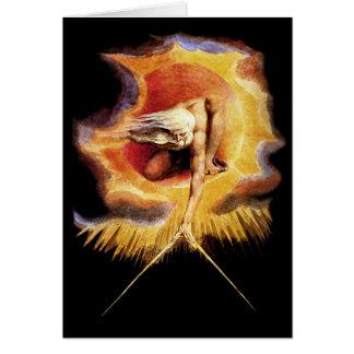 Carte :  Antique des jours ! William Blake