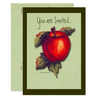 Carte Apple rouge