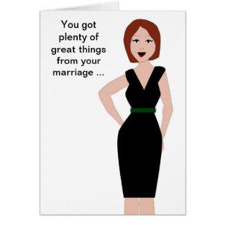 Carte Appui de divorce