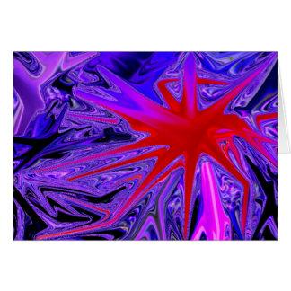 Carte araignée rouge