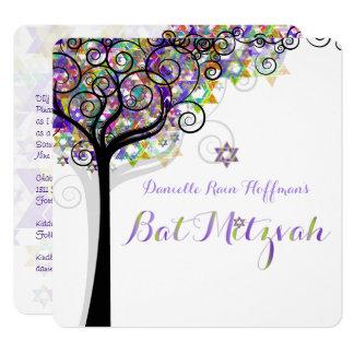 Carte Arbre de PixDezines de bat mitzvah de la vie