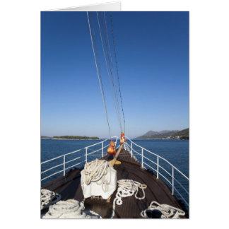 Carte Arc de bateau
