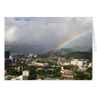 Carte Arc-en-ciel de Honolulu