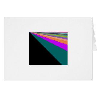 Carte Arc-en-ciel noir de pastel d'arrière - plan