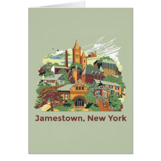 Carte Architecture de Jamestown