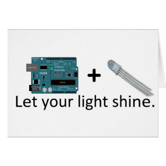 Carte Arduino + RVB LED = inspiration