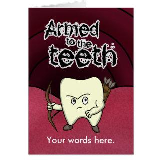 Carte Armé aux dents