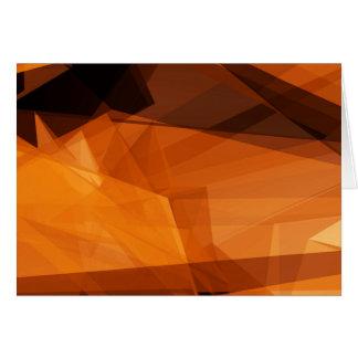 Carte Arrière - plan abstrait d'orange pour la