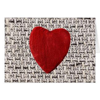 Carte Arrière-plan de matière coeur