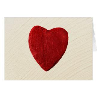 Carte Arrière-plan ébarber coeur