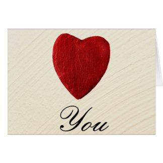 Carte Arrière-plan ébarber Love you