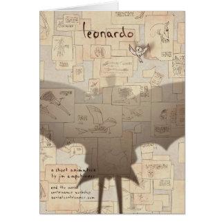 Carte Art d'affiche de Leonardo par Valentin Fischer