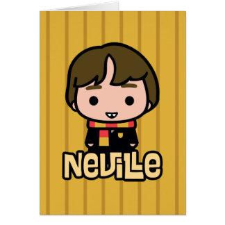 Carte Art de personnage de dessin animé de Neville