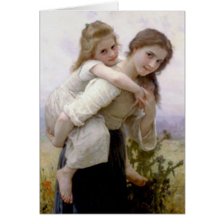 Carte Art de William Adolphe Bouguereau
