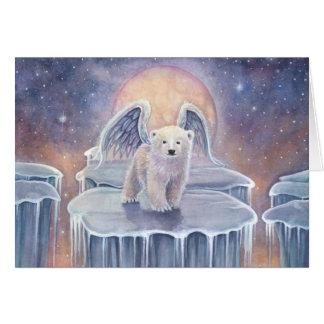 Carte Art doux d'imaginaire de faune d'ange de CUB