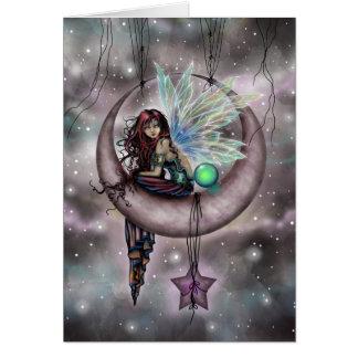 Carte Art féerique d'imaginaire d'Electra Fae par