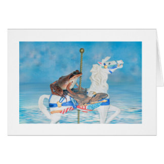 Carte Art mignon de photo de conte de fées