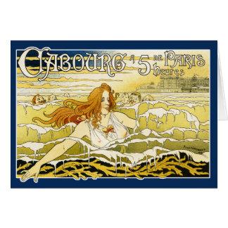 Carte :  Art Nouveau - Casino de Cabourg