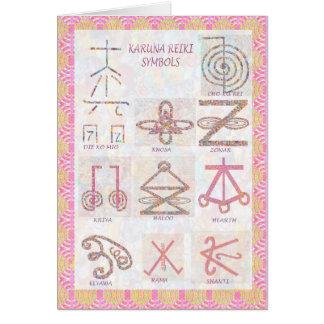 Carte ART symbolique : Reiki maîtrise des outils de