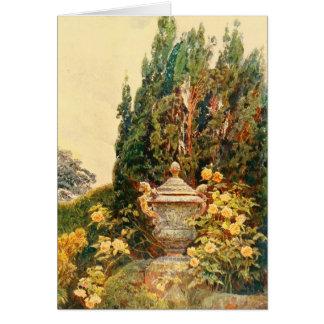Carte Art vintage de jardin - Elgood, George S.