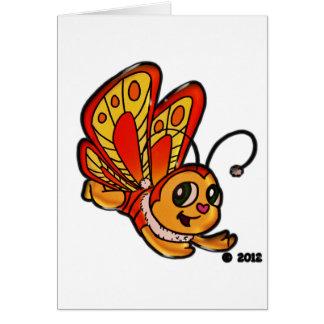 Carte Articles promotionnels de Chloe de papillon
