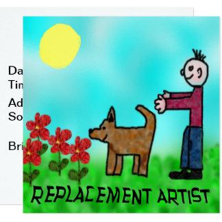 Carte Artiste de rechange