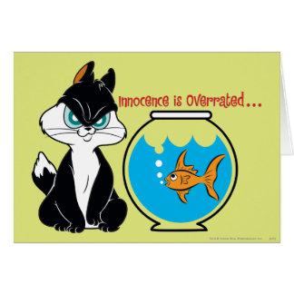 Carte Atermoyez Kitty grincheux