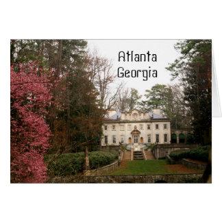 Carte Atlanta la Géorgie