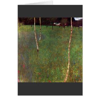 Carte Atterrisseur de ferme par Gustav Klimt