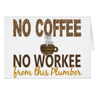 Carte Aucun café aucun plombier de Workee