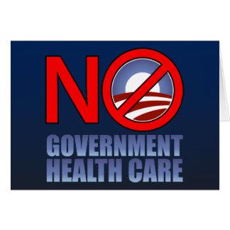 Carte Aucuns soins de santé de gouvernement