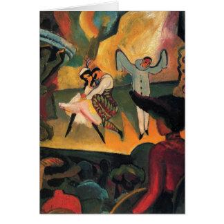 Carte August Macke - ballet russe