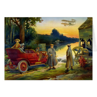 Carte Automobile vintage 1910 de KRW