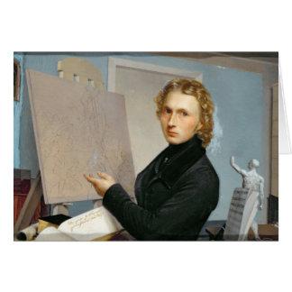 Carte Autoportrait, 1822