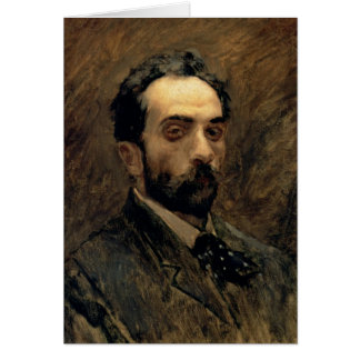 Carte Autoportrait, 1890s