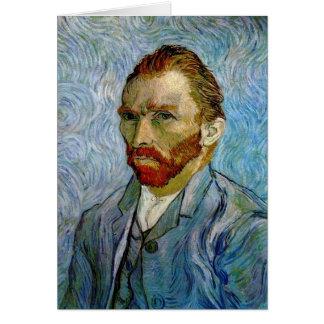 Carte Autoportrait par Vincent van Gogh