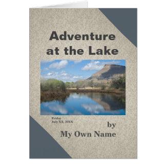 Carte Aventure au modèle de Mini-Mémoire de lac
