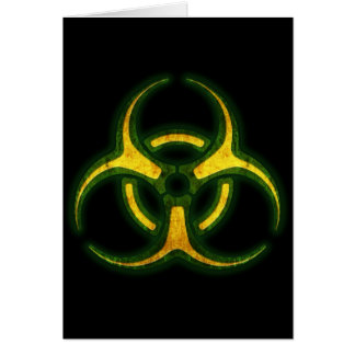 Carte Avertissement de zombi de Biohazard