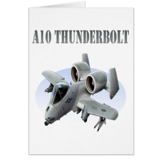 Carte Avion de gris du coup de foudre A10