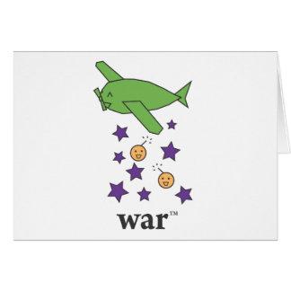 Carte Avion vert de bombardier de la guerre (TM)