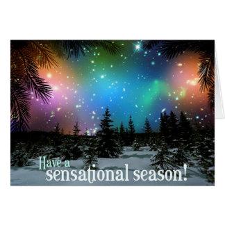 Carte Ayez une saison sensationnelle ! Télescope spatial
